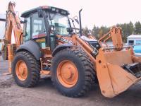 Grävlastare - Traktorgrävare